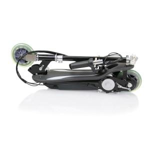 Elscooter 120W Svart - med sadel